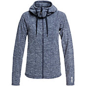 Roxy Women's Electric Feeling Hooded Zip-Up Fleece Jacket