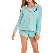 Roxy Girls' Mask And Snorkels Full Zip Hoodie