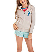 Roxy Girls' My Fins Full Zip Hoodie