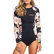 Roxy Women's Printed Long Sleeve Rash Guard