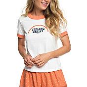 Roxy Women's Sand & Sun Rays Short Sleeve T-Shirt