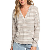 Roxy Women's Sweet Thing Heather Striped Pullover