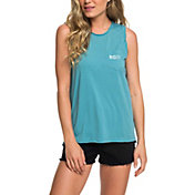 Roxy Women's Time For Another Day Burnout Muscle T-Shirt