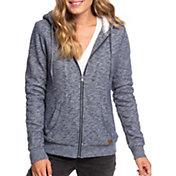 Roxy Women's Trippin Sherpa Lined Full Zip Hoodie