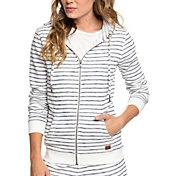 Roxy Women's Trippin Stripe Full Zip Hoodie