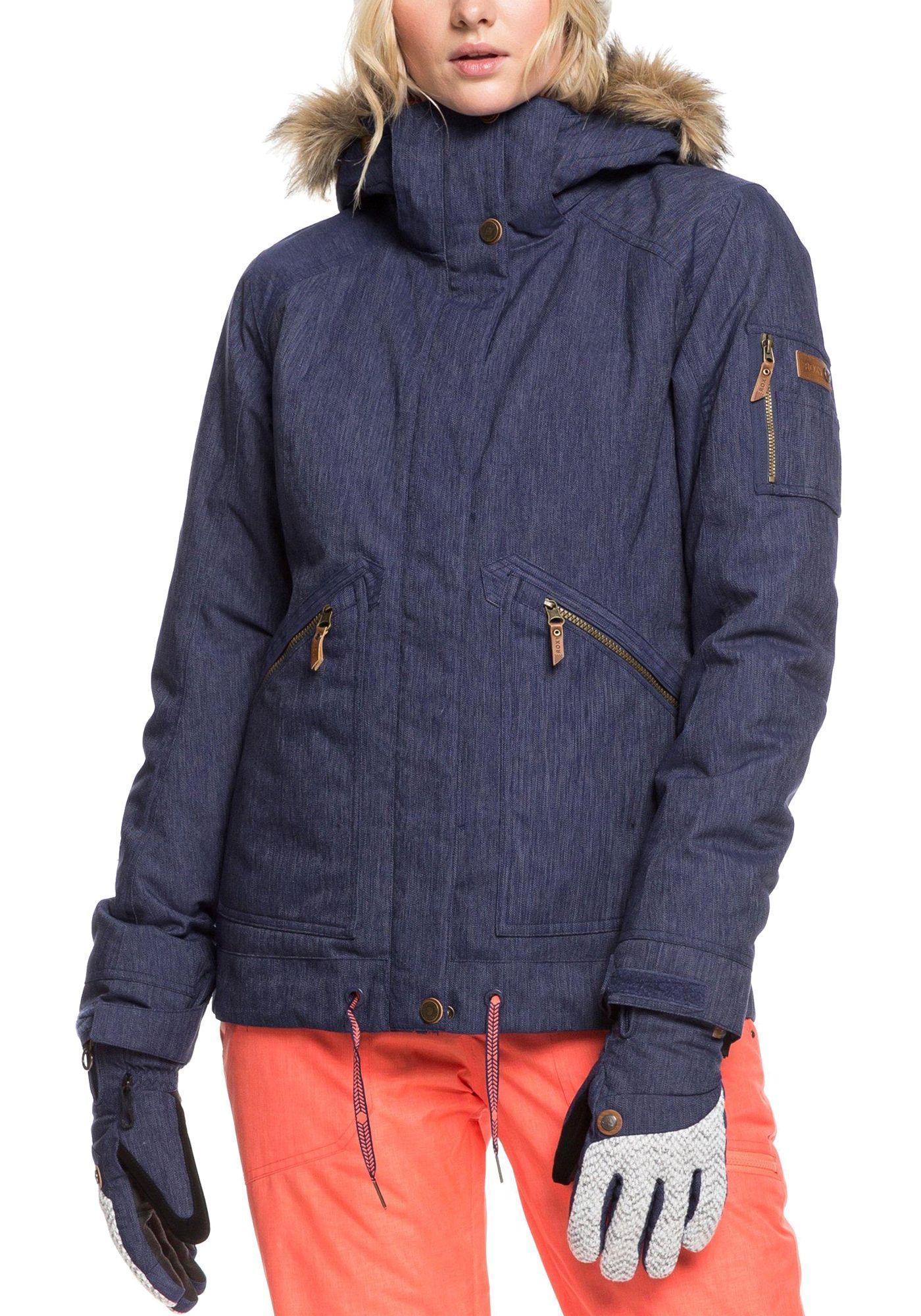 Roxy Women's Meade Denim Snow Jacket