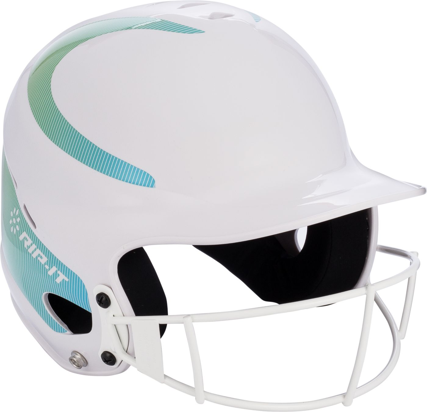 RIP-IT Vision Pinstripe Fastpitch Batting Helmet