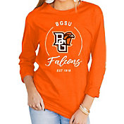 Gameday Couture Women's Bowling Green Falcons Orange Varsity Long Sleeve T-Shirt