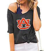 Gameday Couture Women's Auburn Tigers Grey Vibing Boyfriend T-Shirt