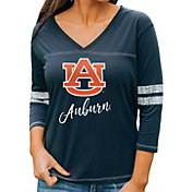 Gameday Couture Women's Auburn Tigers Blue ¾ Sleeve Sport T-Shirt