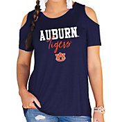 Gameday Couture Women's Auburn Tigers Blue Cold Shoulder T-Shirt