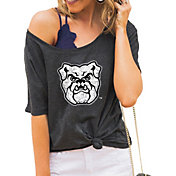 Gameday Couture Women's Butler Bulldogs Grey Vibing Boyfriend T-Shirt