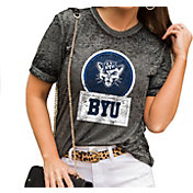 Gameday Couture Women's BYU Cougars Grey Boyfriend T-Shirt