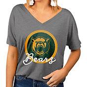 Gameday Couture Women's Baylor Bears Grey Subtle Dolman Sleeve V-Neck T-Shirt