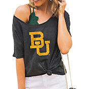 Gameday Couture Women's Baylor Bears Grey Vibing Boyfriend T-Shirt