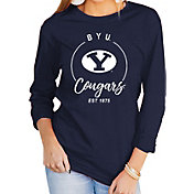 Gameday Couture Women's BYU Cougars Blue Varsity Long Sleeve T-Shirt