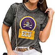 Gameday Couture Women's East Carolina Pirates Grey Boyfriend T-Shirt