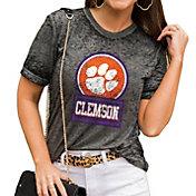Gameday Couture Women's Clemson Tigers Grey Boyfriend T-Shirt