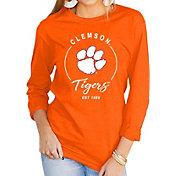 Gameday Couture Women's Clemson Tigers Orange Varsity Long Sleeve T-Shirt