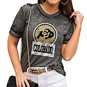 Gameday Couture Women's Colorado Buffaloes Grey Boyfriend T-Shirt