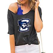 Gameday Couture Women's Creighton Bluejays Grey Vibing Boyfriend T-Shirt