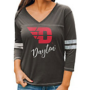 Gameday Couture Women's Dayton Flyers Grey ¾ Sleeve Sport T-Shirt