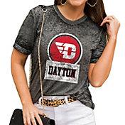 Gameday Couture Women's Dayton Flyers Grey Boyfriend T-Shirt
