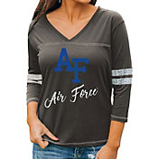 Gameday Couture Women's Air Force Falcons Grey ¾ Sleeve Sport T-Shirt