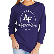 Gameday Couture Women's Air Force Falcons Blue Varsity Long Sleeve T-Shirt