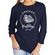 Gameday Couture Women's Gonzaga Bulldogs Blue Varsity Long Sleeve T-Shirt