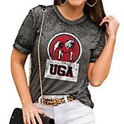 Gameday Couture Women's Georgia Bulldogs Grey Boyfriend T-Shirt