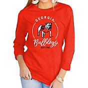 Gameday Couture Women's Georgia Bulldogs Red Varsity Long Sleeve T-Shirt