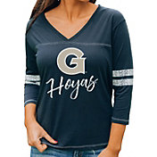 Gameday Couture Women's Georgetown Hoyas Blue ¾ Sleeve Sport T-Shirt