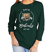 Gameday Couture Women's Ohio Bobcats Green Varsity Long Sleeve T-Shirt