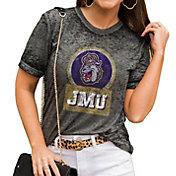 Gameday Couture Women's James Madison Dukes Grey Boyfriend T-Shirt