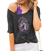 Gameday Couture Women's James Madison Dukes Grey Vibing Boyfriend T-Shirt