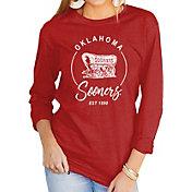 Gameday Couture Women's Oklahoma Sooners Crimson Varsity Long Sleeve T-Shirt