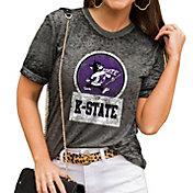 Gameday Couture Women's Kansas State Wildcats Grey Boyfriend T-Shirt