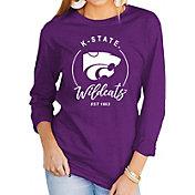 Gameday Couture Women's Kansas State Wildcats Purple Varsity Long Sleeve T-Shirt