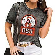 Gameday Couture Women's Oklahoma State Cowboys Grey Boyfriend T-Shirt