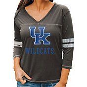 Gameday Couture Women's Kentucky Wildcats Grey ¾ Sleeve Sport T-Shirt