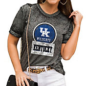 Gameday Couture Women's Kentucky Wildcats Grey Boyfriend T-Shirt