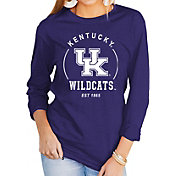 Gameday Couture Women's Kentucky Wildcats Blue Varsity Long Sleeve T-Shirt