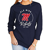 Gameday Couture Women's Ole Miss Rebels Blue Varsity Long Sleeve T-Shirt