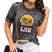 Gameday Couture Women's LSU Tigers Grey Boyfriend T-Shirt