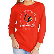 Gameday Couture Women's Louisville Cardinals Cardinal Red Varsity Long Sleeve T-Shirt