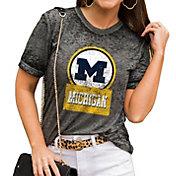 Gameday Couture Women's Michigan Wolverines Grey Boyfriend T-Shirt