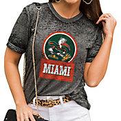 Gameday Couture Women's Miami Hurricanes Grey Boyfriend T-Shirt