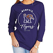 Gameday Couture Women's Memphis Tigers Blue Varsity Long Sleeve T-Shirt