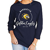 Gameday Couture Women's Marquette Golden Eagles Blue Varsity Long Sleeve T-Shirt